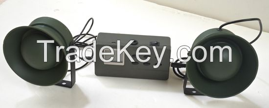 Hot selling device for hunting animals decoy support two external speakers cp-390