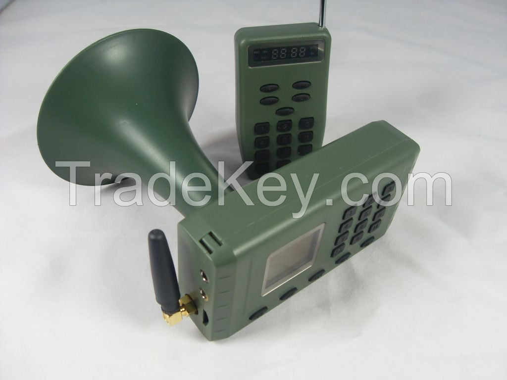 Hunting decoy with remote control and 110 sounds cp-380