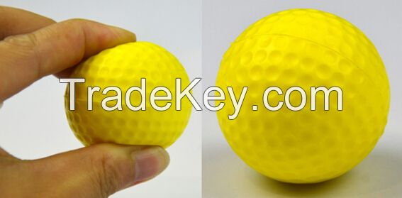 PU golf range ball