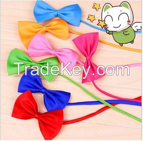 New Fashion Cute Dog Cat Pet Puppy Toy Kid Cute Bow Tie Necktie Collar Clothes