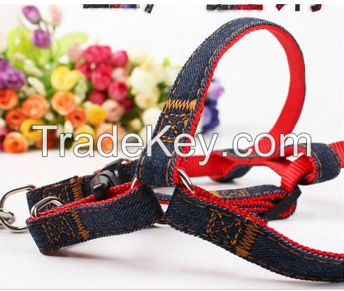 New Pet Dog Training Leash Traction Rope Adjustable Pet Harness Chest Strap Rope