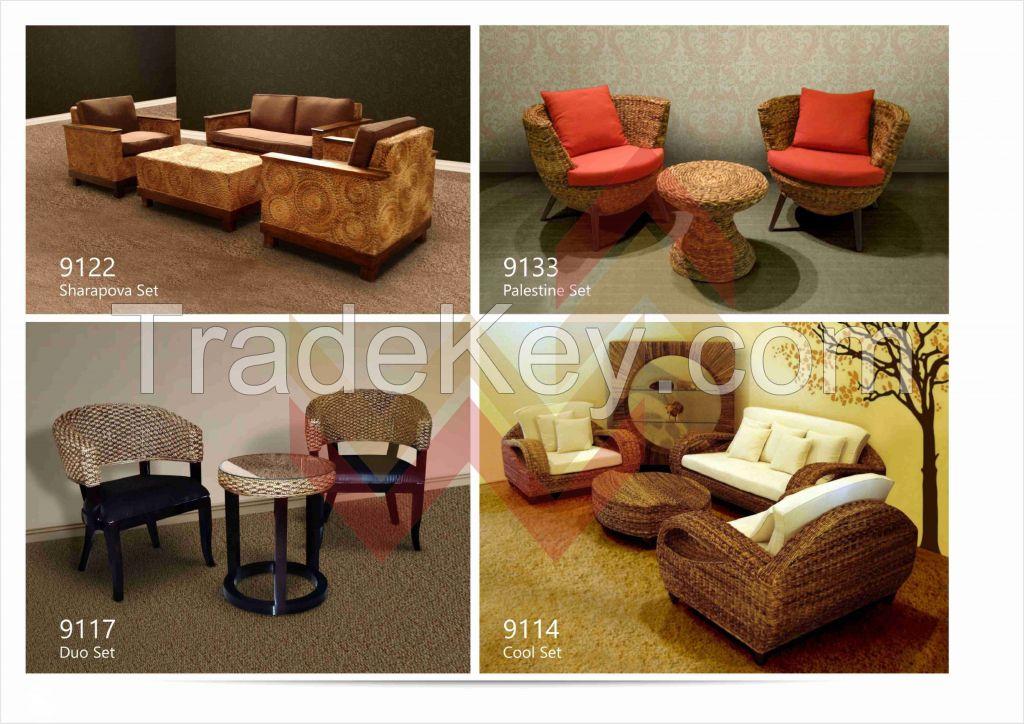 Rattan and Wood Furniture