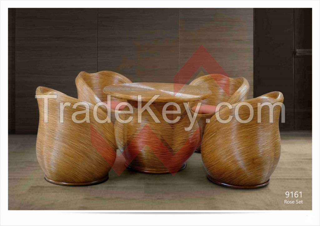 Rattan and Wood Furniture