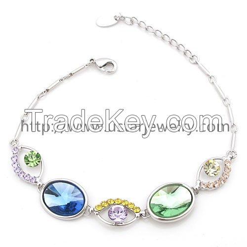 Jewelry Wholesale Jewelry New Silver Bracelet Designs ,Adjustable Silver Bracelet