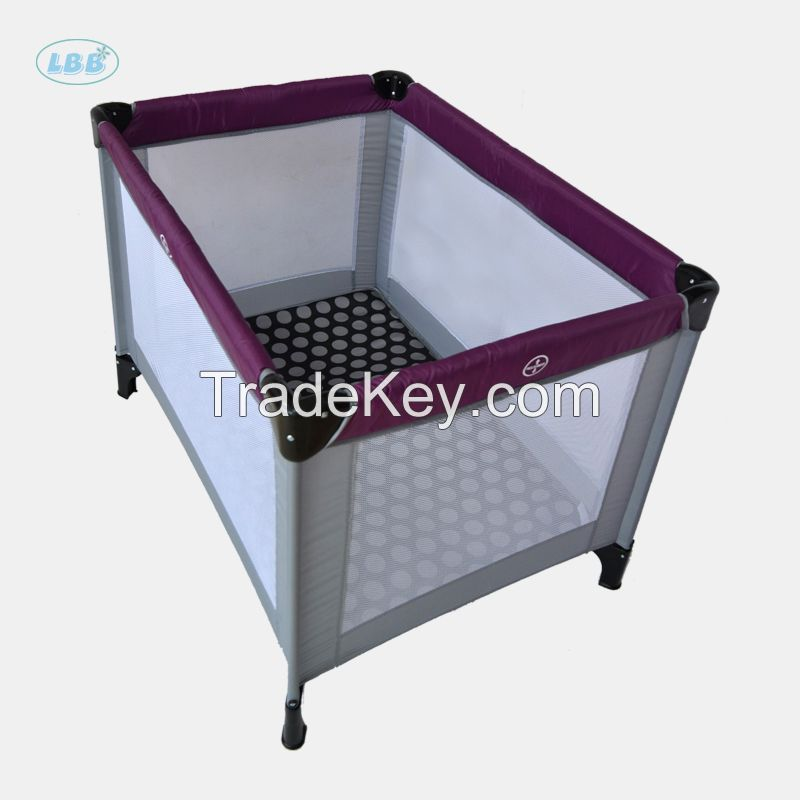 Chinese factory OEM portable Baby metal crib/cot