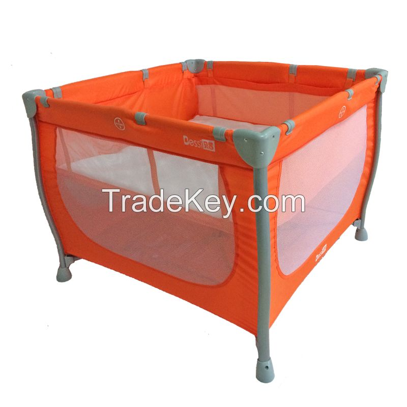 Aluminum baby square playpen Chinese Manufacturer