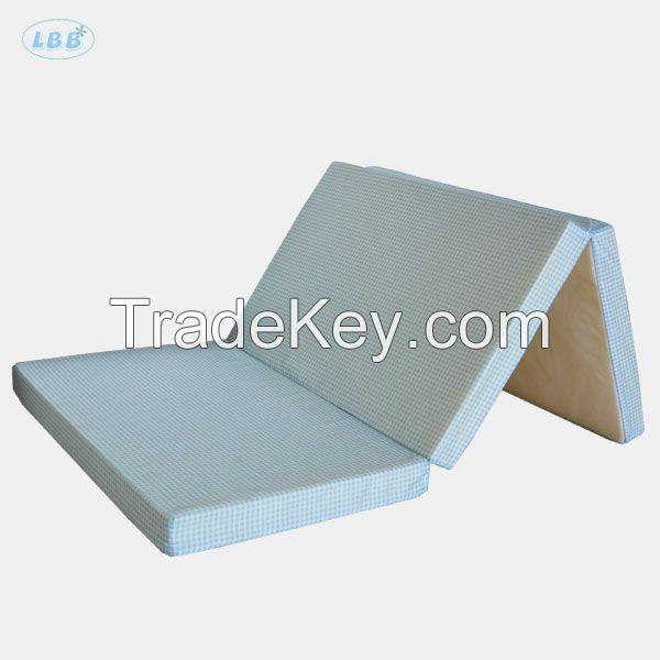 Folding foam baby mattress for playpen