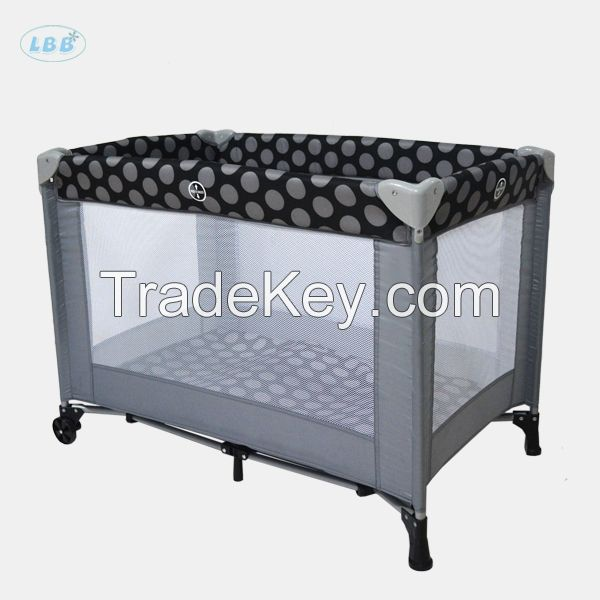 Affordable baby playpen small size cheap infant crib OEM Chinese factory
