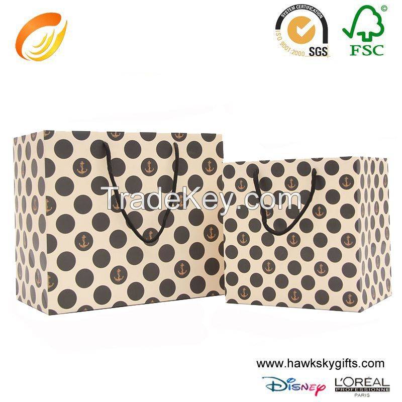 Accept customize packaging paper bags