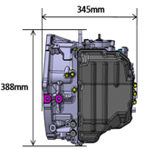 6 speed automatic transmission for car