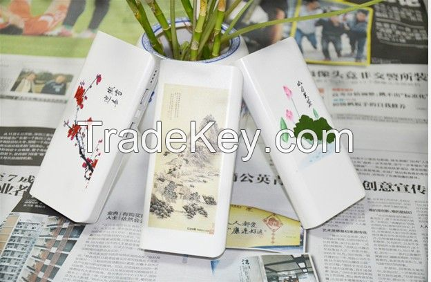 Safety Smart Power Bank with Different Pictures Choosed