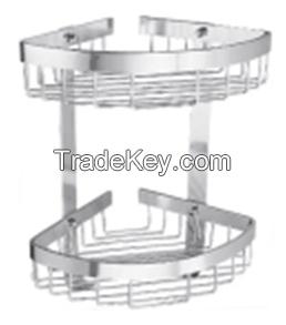 aluminum wire rack, aluminum shower caddy, shower rack, aluminum shower basket, aluminum storage basket, bathroom rack