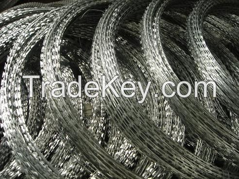 Security Fencing Razor Barbed Wire