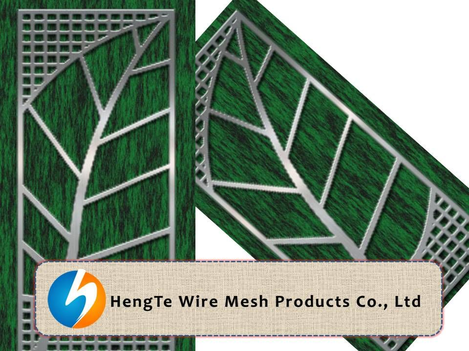 Perforated Metal Sheet | leaf Design |