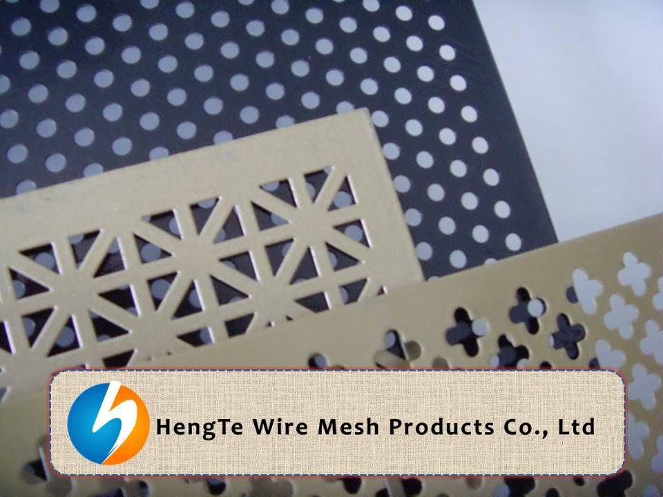 Perforated Metal Sheet Designs