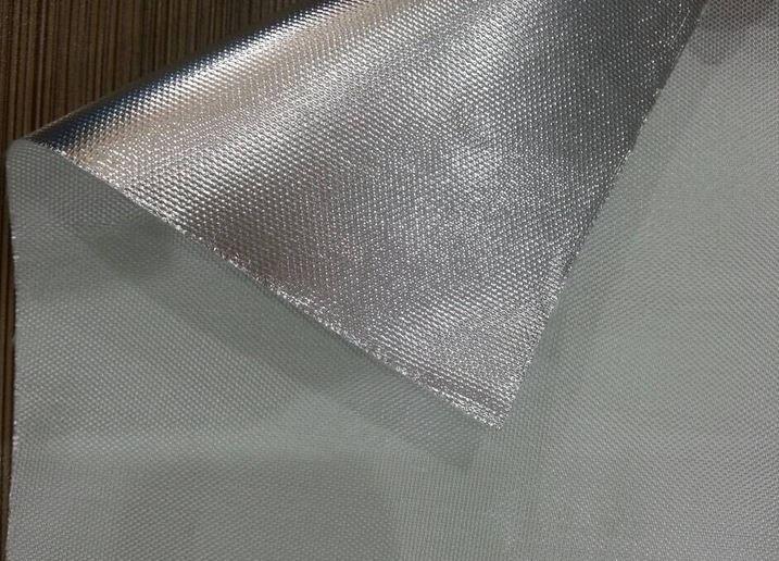Heat Resistant Aluminum Foil Fiberglass Cloth