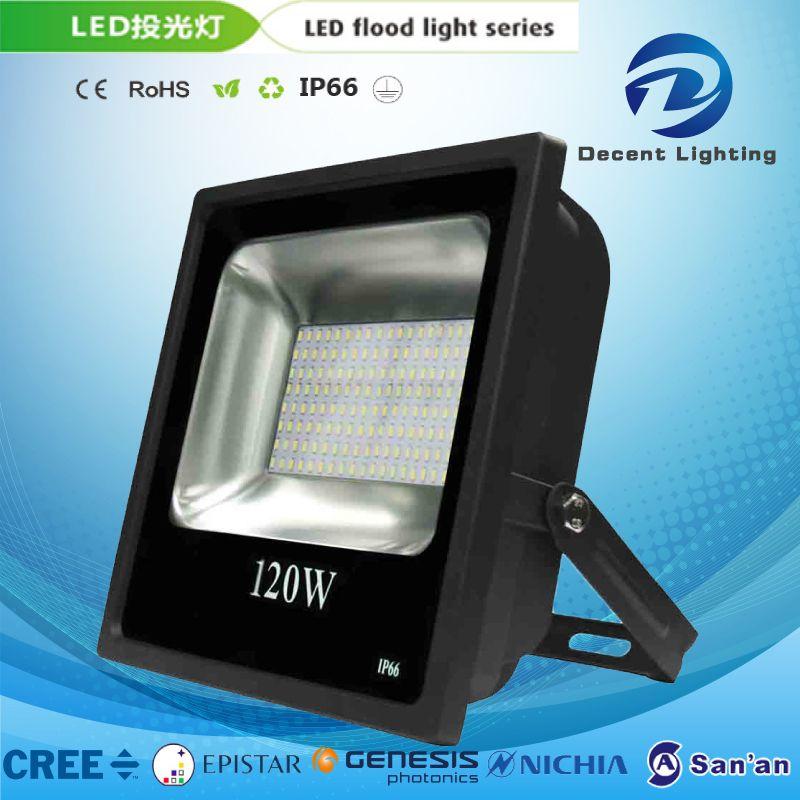 10W-200W LED Flood Light Lamp Outdoor Garden Slim Waterproof Aluminum Alloy Light IP65 85-265V