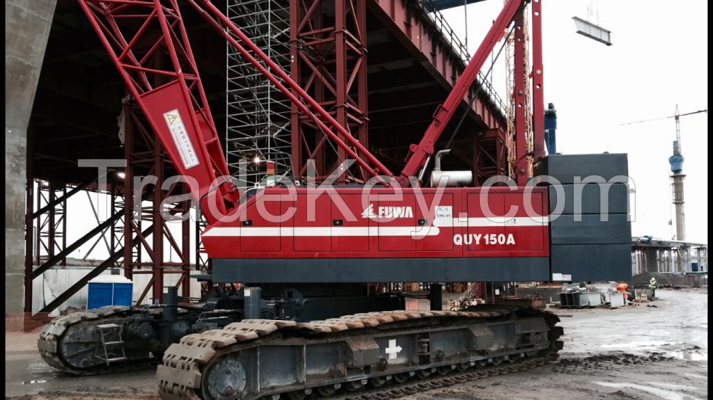 FUWA QUY 150A CRAWLER CRANE 150 TONS