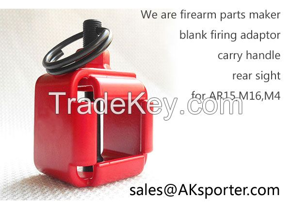 Carry handle scope mount