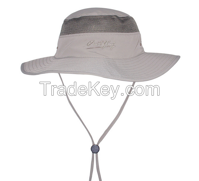 Wholesale Leisure Custom Bucket Hat with Printed Logo