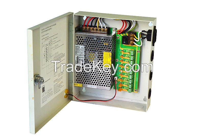 S-4308 UPS EPS switched  power supply box 9CH supplier