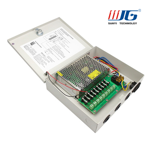 switching power supply 9CH centralized power supply box AC to DC power supply CCTV camera power supply