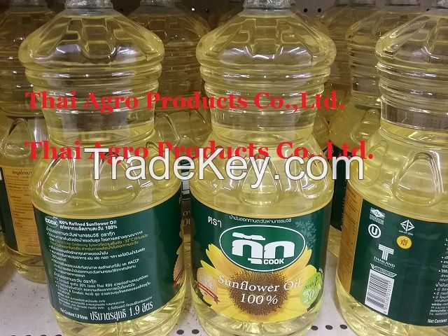 100% Refined Sunflower Oil / 100 % Pure Sunflower Seed Oil