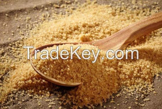Raw Brown Cane Sugar ICUMSA 800 - 1200 VHP
