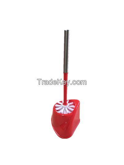 Plastic toilet brush