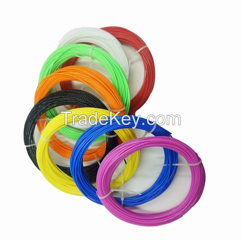 3D Pen Filament Refills 8 Color Pack, 50g/color 1.75mm PLA filament
