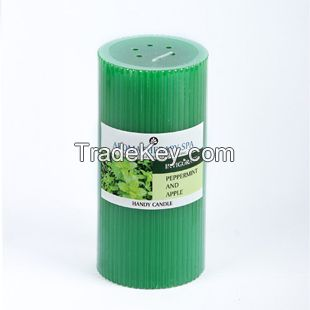 Wholesale Eco-friendly Festival Scented Pillar Candle