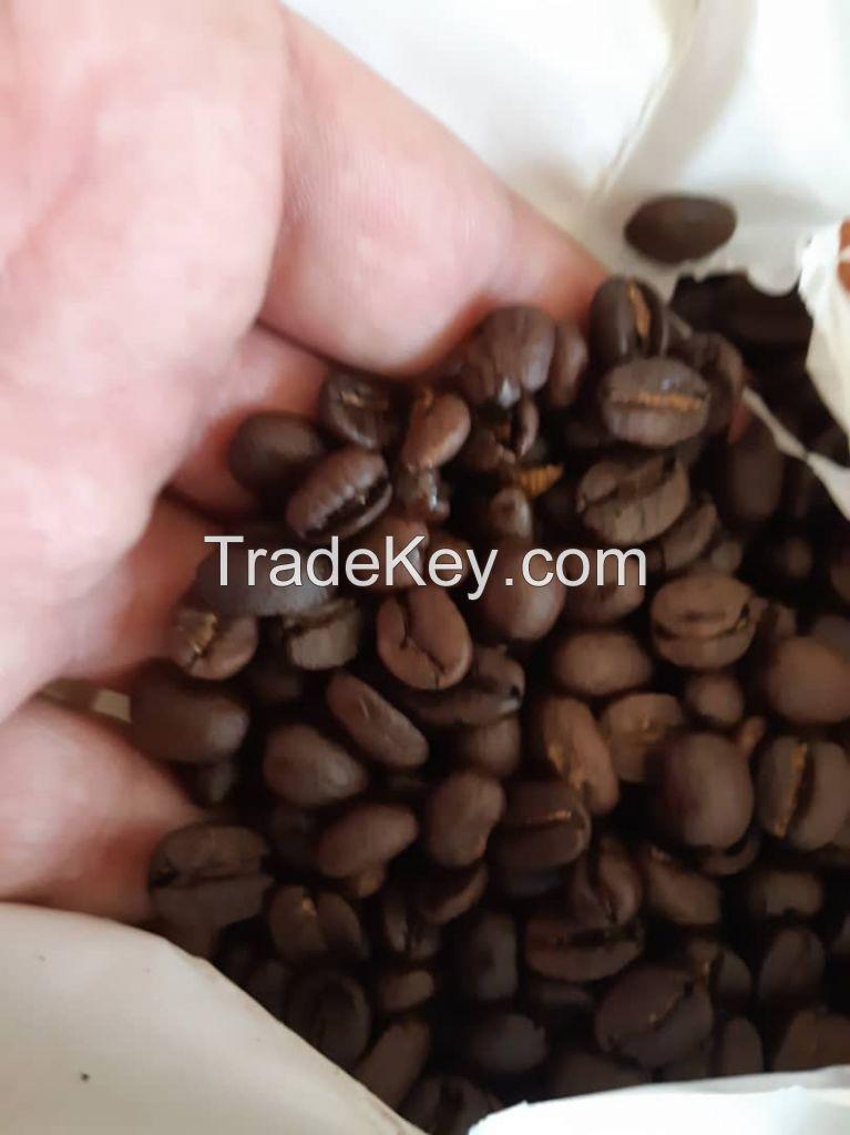 Green coffee beans Arabica / Rubista  Origin Tanzania