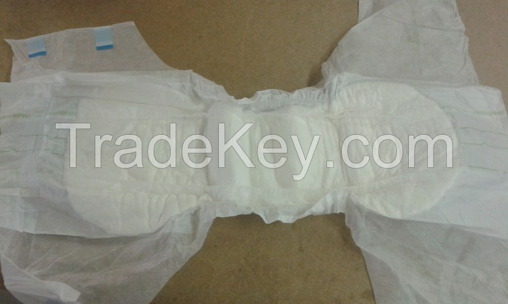 Adult Disposable Diapers in bales from Germany