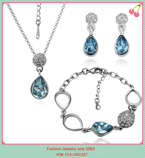 Fashion Jewelry Sets Jewelries Set Wholesale Price Jewellry Manufacturer