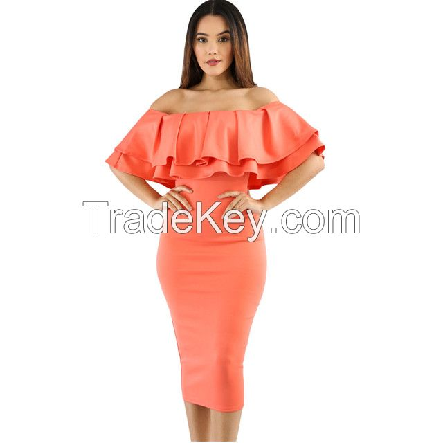 Hot sell fashionable elegant vintage sexy dress
