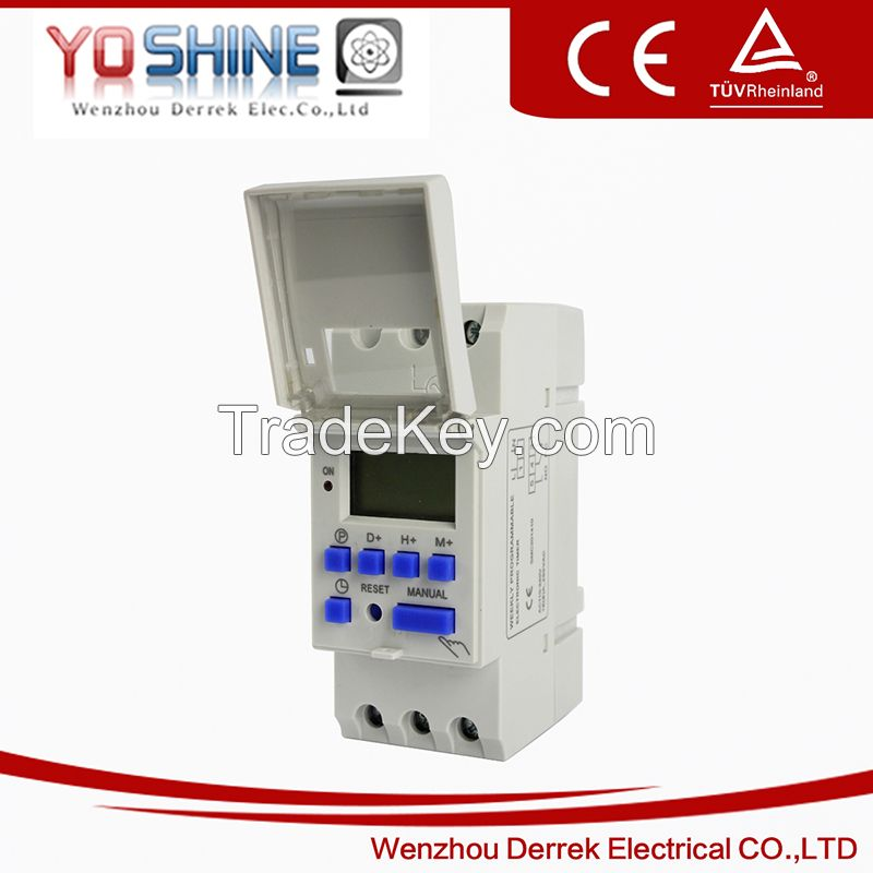 YX192 12V 24V 220V AC DC time switches