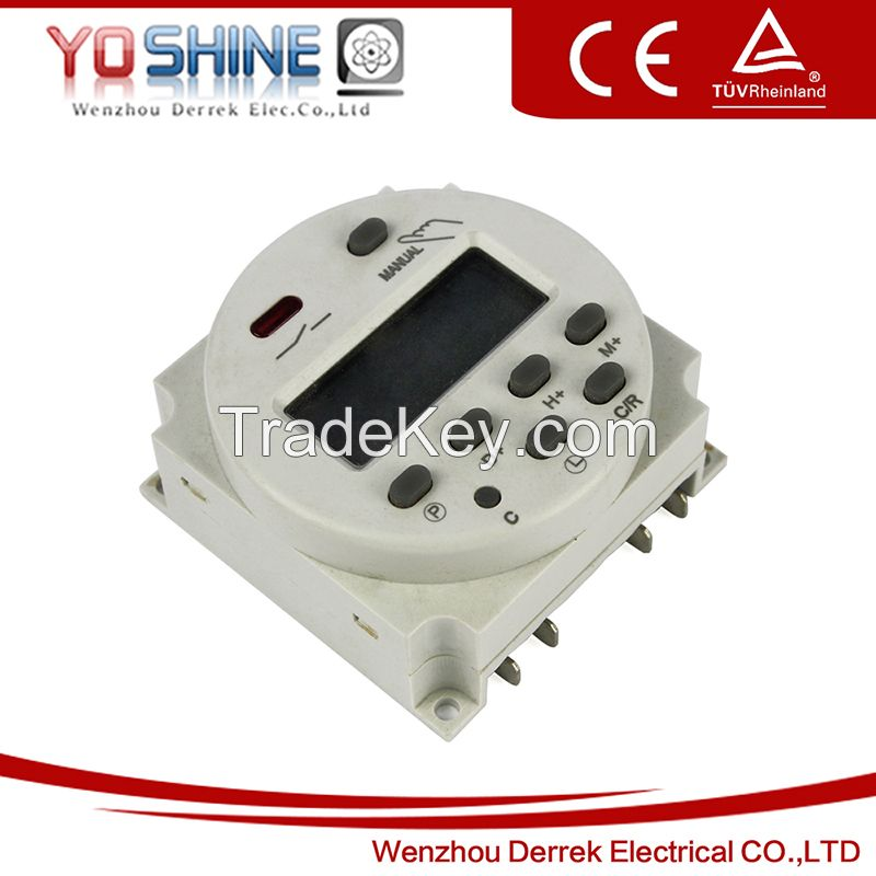 YX804 AC220V 16A LCD display digital time switches