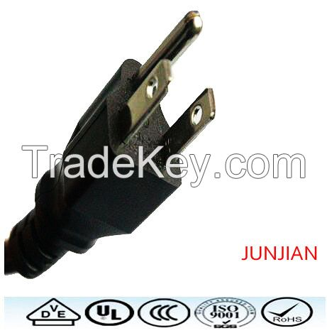 America US 125v Standrad power cord