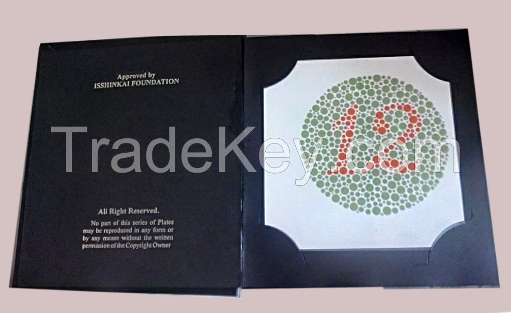 Brand New ISHIHARA 38 PLATE BOOK FOR COLOR DEFICIENCY TEST