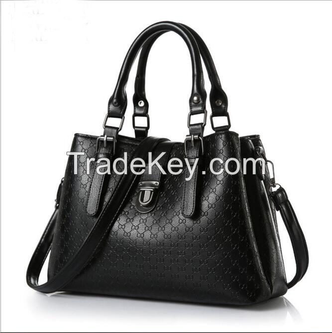 Fashionable Women's Tote Bag PU Leather Design