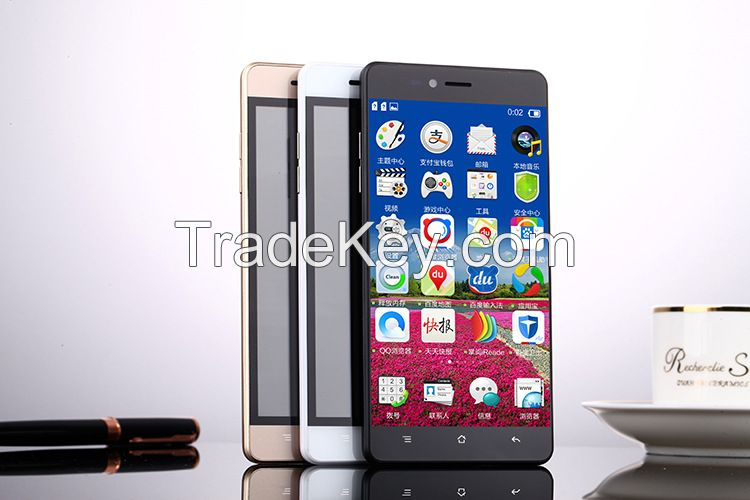 Ali cloud mobile 3 g mobile phones 5.0 -inch low-cost wholesale