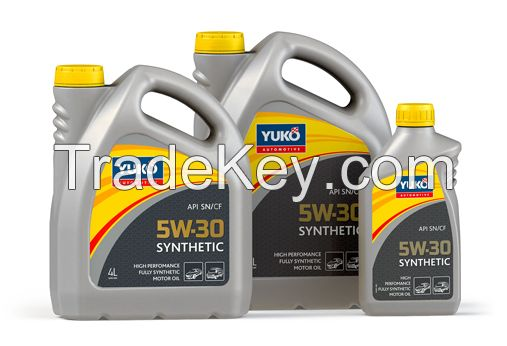 Motor oil YUKO Synthetic 5W30