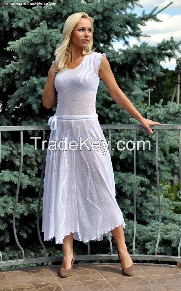 Pure linen dresses