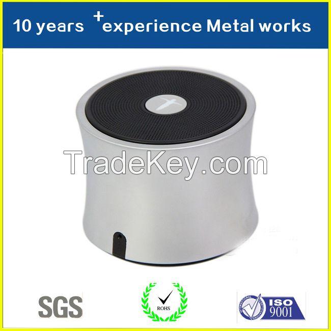 China Alibaba Supplier Hot Selling Factory Price Aluminium Mini Audio Housing