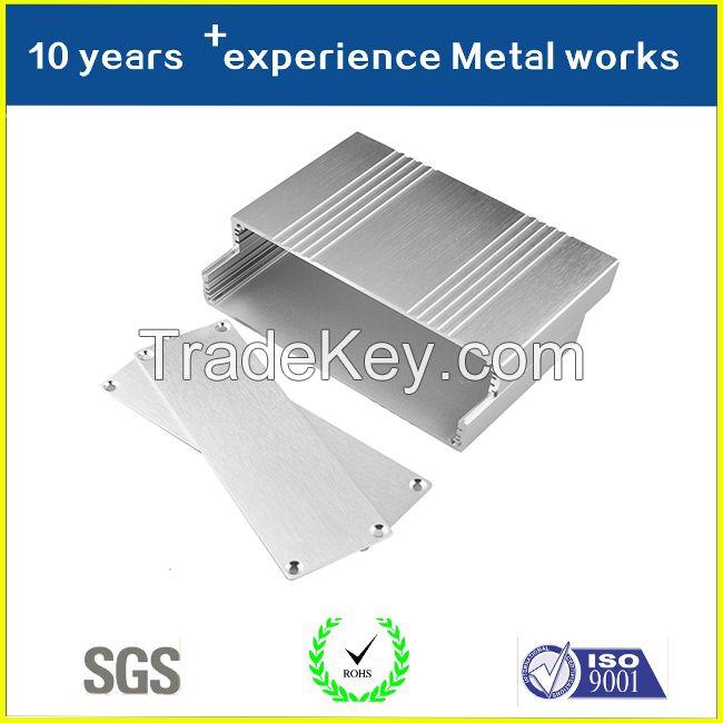 Custom Aluminum Extrusion CNC Machine Parts with Anodizing Manufactorer