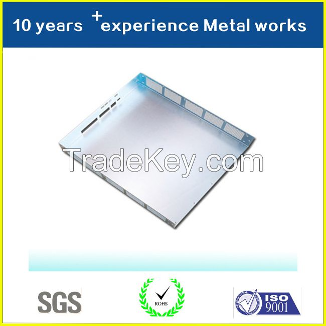 Metal Stamping Part Manufacturing Color Anodized Aluminum Sheet Parts