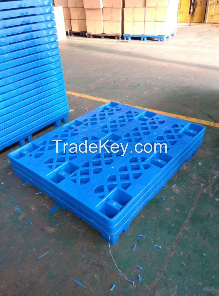 China manufacture good quality plastic pallets for sale