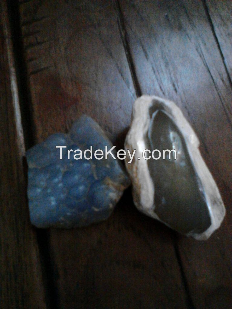 2 Tons of Chalcedony Gemstone