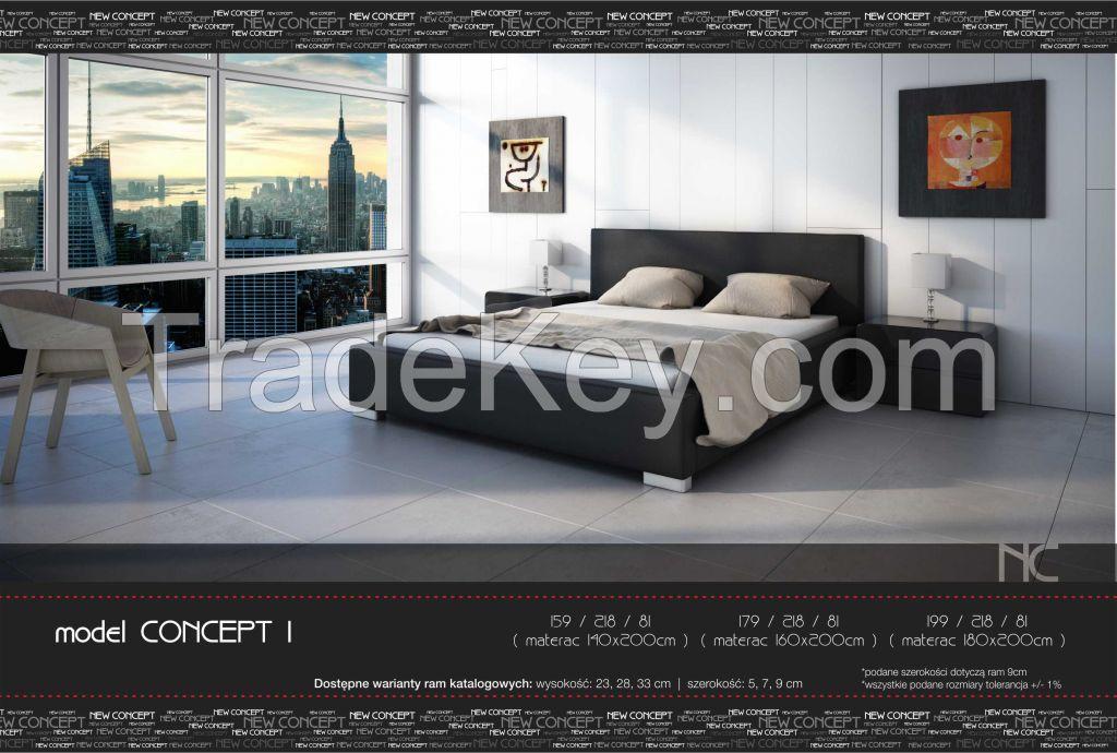 CONCEPT I upholstered bed model