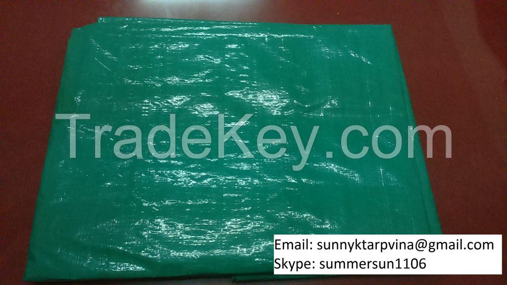 GREEN TARPAULIN 130 GSM